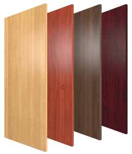 Wood Grain High Pressure Laminate Doors