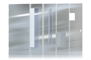 Hollow Metal Doors with Stainless Steel Finish