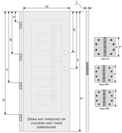 Door Prefitting Worksheet.