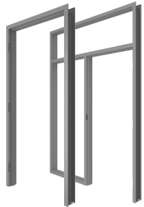 Hollow Metal Commercial Frames